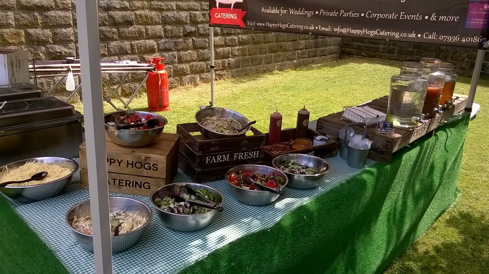 Wedding BBQ Catering
